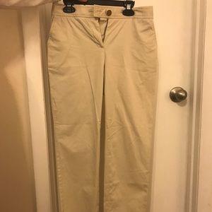 Tory Burch light khakis pants